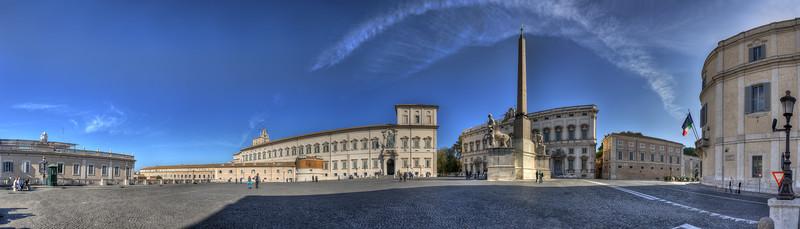 Piazza del Quirinale - Rome, Italy - November 6, 2010