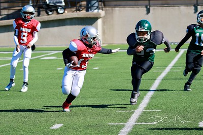 2017-10-28 4th Grade Union Silver vs Muskogee Green