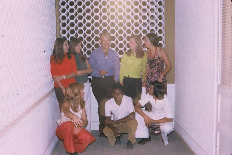 Ana Isabel Silva, Paula Borges, prof.Piedade; Paula Borges, Isabella,  Paula Piedade, Afonso Muqué, António Duarte