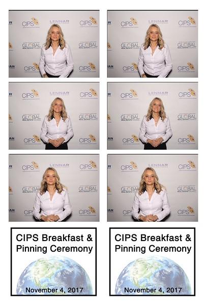 CIPS Breakfast & Pinning Ceremony (11/04/17)