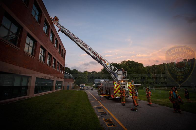 LVFD Aerial Operations Training - Lyman Memorial HS