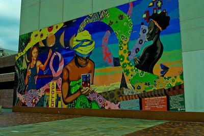 Mural : Breast Examination Center Harlem