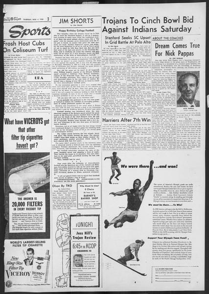 Daily Trojan, Vol. 46, No. 35, November 04, 1954