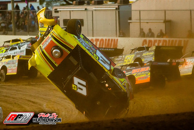 Brownstown Speedway - Lucas Oil LM Dirt Series - 3/20/21 - Heath Lawson