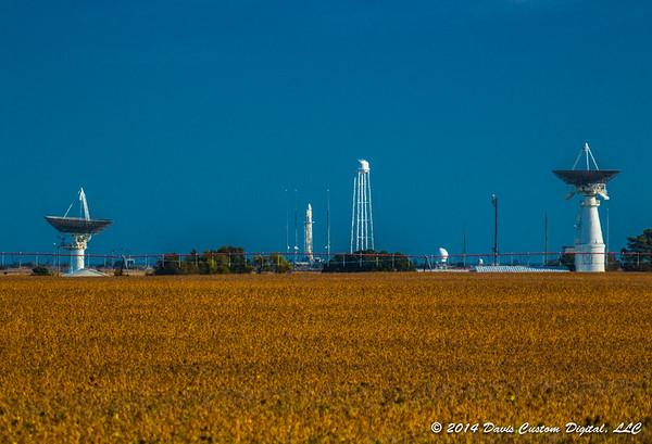 Photos - Antares Launch Day