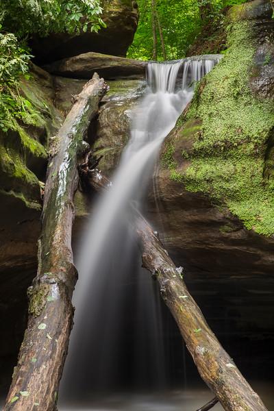 Falls at Kaskaskia Canyon