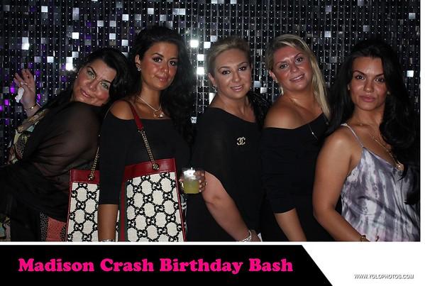 Madison Crash Birthday Party