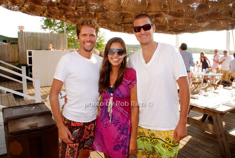 Chris, Elaine and Jose Candia