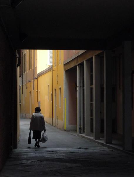 Via Resti - Reggio Emilia, Italy - October 23, 2008