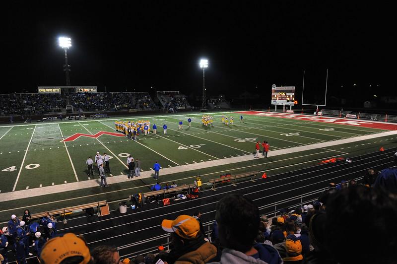 Marion Local vrs Delphos St. Johns Football - State Semi Finals