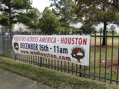 Wreaths Across America - Houston, Texas, December 15, 2012