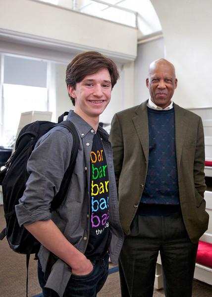 Terrence Roberts Visits US