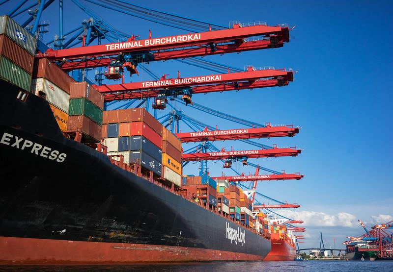Hamburg Waltershofer Hafen