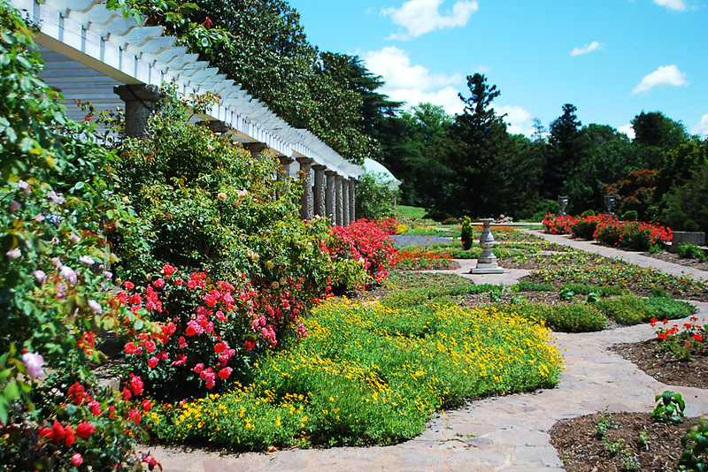 Maymont's Italian Garden is one of the romantic things to see in Richmond.