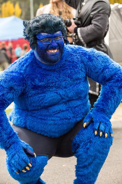 Feeling Blue... - but cuddly!