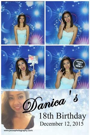 Danica's 18th Birthday