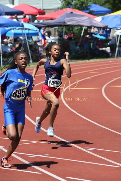 2017 AAU DistQual: 12 Girls 200m