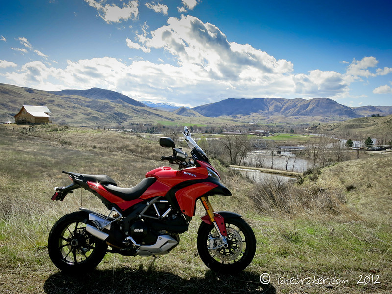 Great Multistrada 1200 scenic shots from 'bwhip' aka Brian 