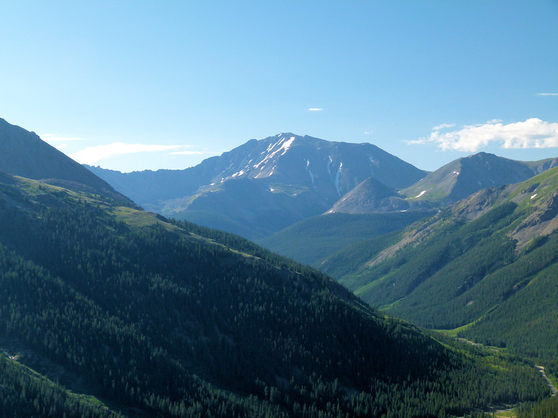 La Plata from Independence Pass area the next day