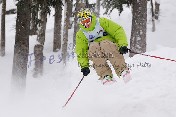 2009 Jr Canadian Open Freeskiing Championships @ Red