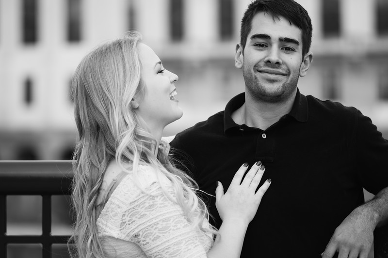 Urban Downtown Rochester New York Engagement Session Shoot Photos Pictures 010.jpg
