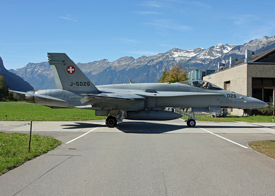 Meiringen Airbase - October 2011