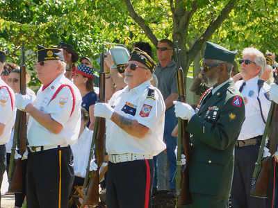 2019 Memorial Day ceremony at Spring Grove Cemetery