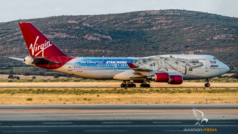 Virgin Atlantic / Boeing B747-443 / G-VLIP / The Falcon Livery
