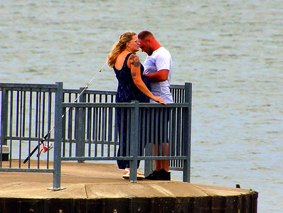Couple On the Pier 8-14-2020