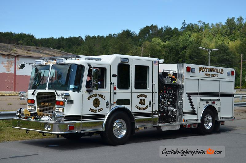 Pottsville (Goodwill Fire Co. 4) Engine 41: 2012 KME 2000/750