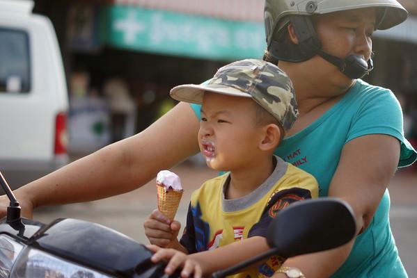 Cambodia VII (Distinct Faces)