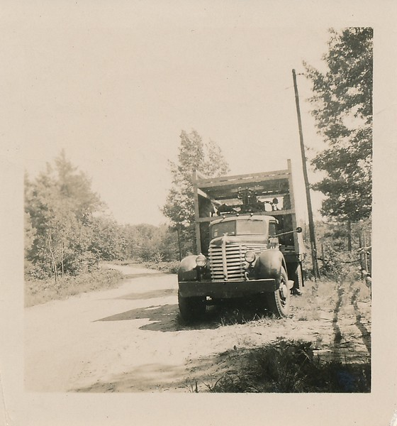 The truck parked at Smug Harbor Resort near Baldwin sp 1952.jpg