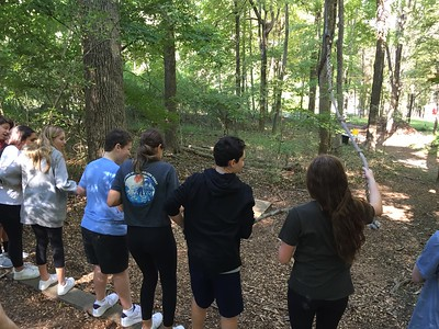 9th Grade Retreat to Camp Green Lane 2019
