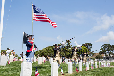 Memorial Day Fort Rosecrans 2014