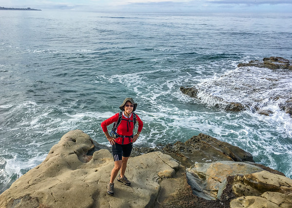 La Jolla Beach Hike, October 30,2016