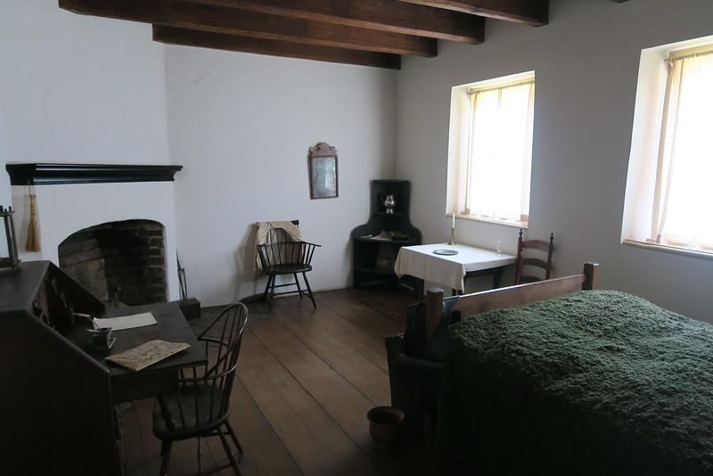 "Salem Tavern (ca. 1784) -- ""Washington's Room"""