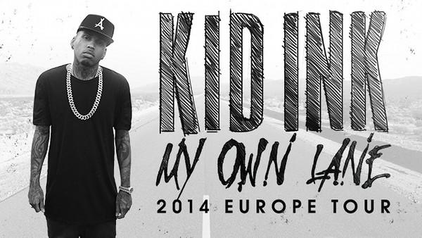 Kid Ink - Europe 2014
