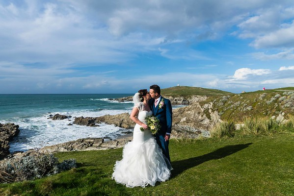 Kristian and Justine The Headland Hotel Newquay October