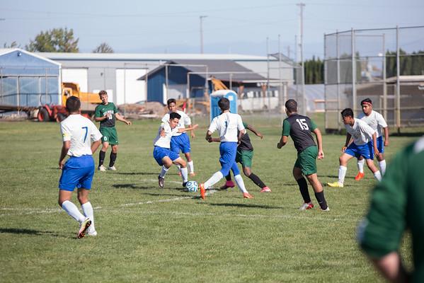 Varsity Soccer vs. Gervais