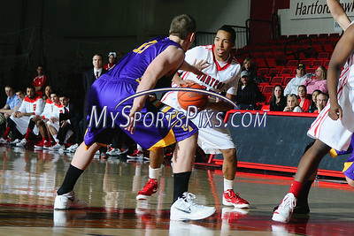 Albany vs UHart Mens' Basketball 1/28/2012