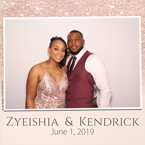 June 01, 2019 - Zyeishia & Kendrick