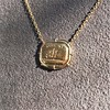 'In Hope' 18kt Yellow Gold Cast Pendant, by Seal & Scribe 11