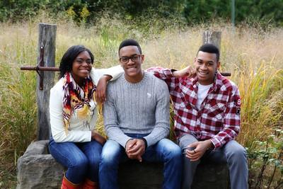 Jesse, Patrice, and Joziah