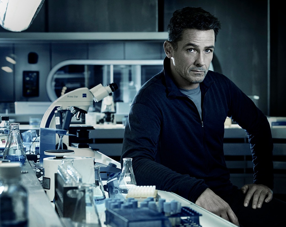 """. Billy Campbell as Alan Farragut in \""""Helix.\"""" The new thriller premiers Jan. 10 with back-to-back episodes on SyFy. (Photo by: Philippe Bosse/Syfy)"""