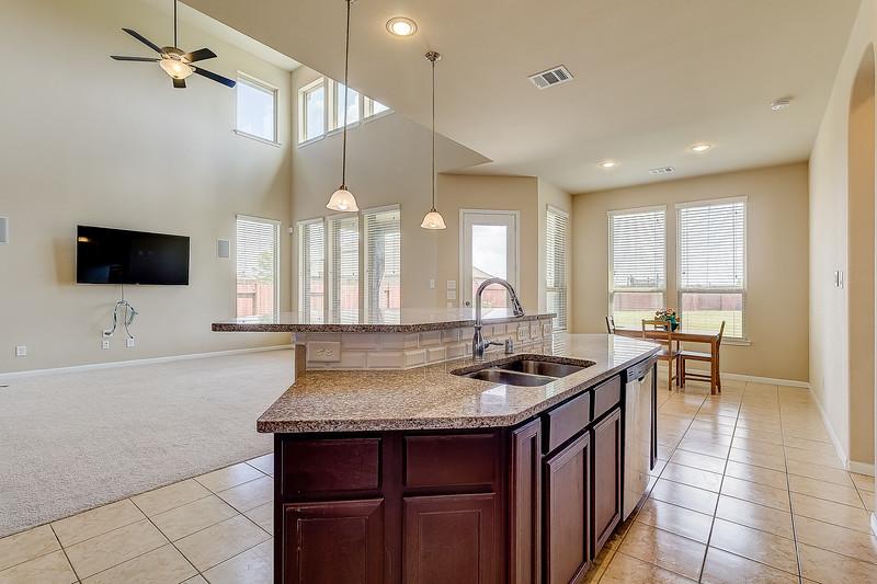 Kitchen, Breakfast, & Living Room