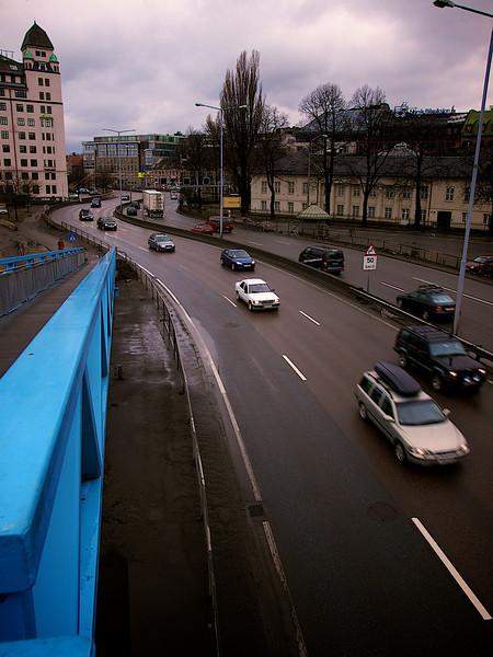 Light Traffic 2, Havneringen, Oslo. ********** Påsketrafikk 2, Havneringen, Oslo. (Foto: Geir)
