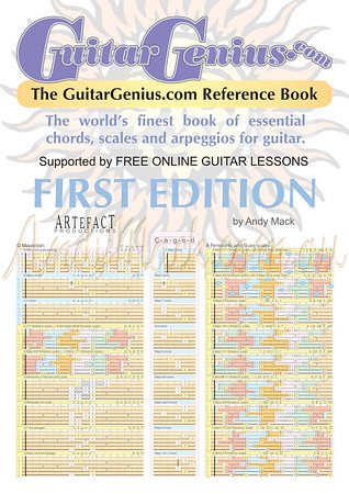 The GuitarGenius.com Reference Book by Andy Mack [sample pages]