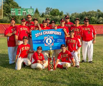 2014 Northern NJ Babe Ruth 14U State Champions - MO Baseball