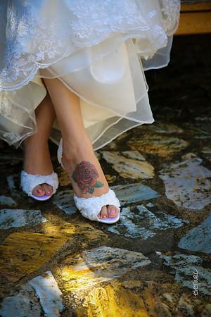 Boda en Blanes: la novia