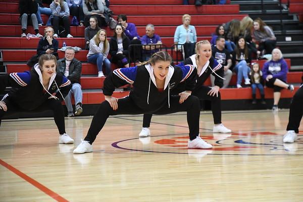 Dance Team - Blair Boys Basketball game